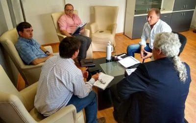 Reunión con el Ministro de Ambiente de Chubut